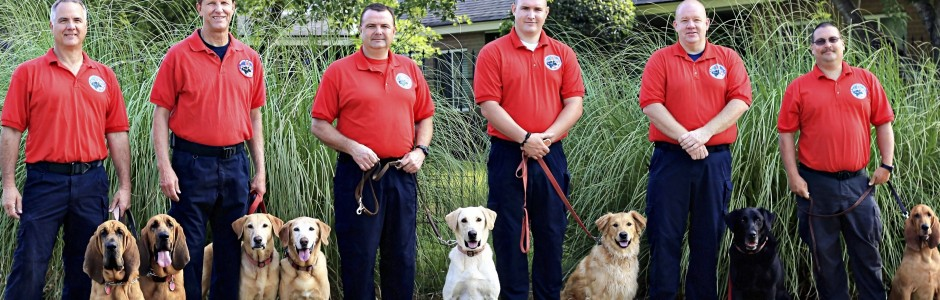 Handlers – Meet our team and their K9 partners
